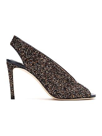 Jimmy Choo London Sandália Ankle boot Shar em glitter - Metálico