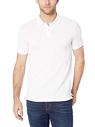 961f7f898 HUGO BOSS BOSS Mens Pallas Short Sleeve Polo Shirt, White, Small