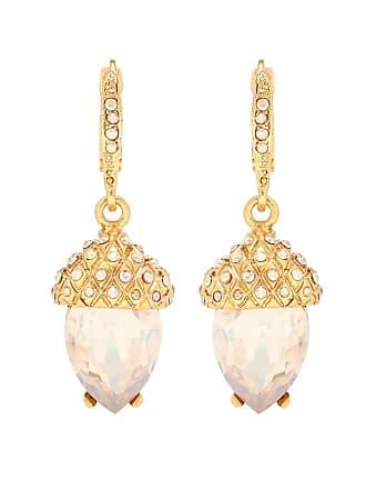 Oscar De La Renta Swarovski crystal earrings