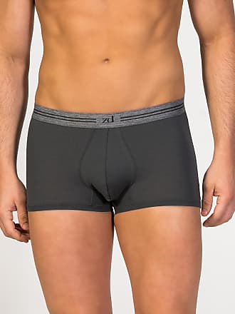 ZD Zero Defects Zero Defects dark grey cotton trunk