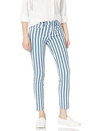 William Rast Womens Perfect Skinny Ankle Jean, Stripe - Turn Back Hem 27