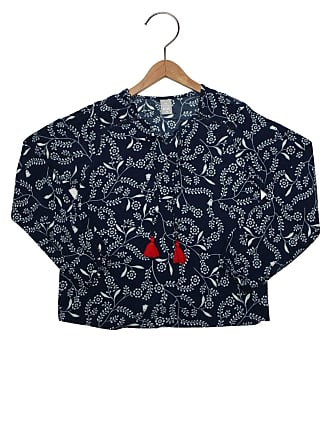 24d5691eceddb Feminino Azul Camisetas De Manga Longa  Compre com até −71%   Stylight