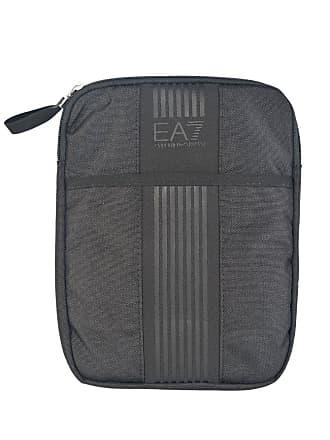 a40be47d7 Emporio Armani EA7 mens Nylon cross-body messenger shoulder bag black