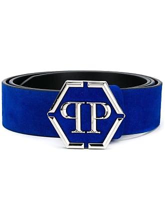 Philipp Plein Statement belt - Blue