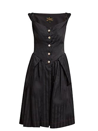 Vivienne Westwood Saturday Self Bustier Dress - Womens - Black