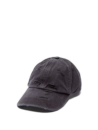 VETEMENTS X Reebok Weekday Friday Embroidered Baseball Cap - Mens - Black