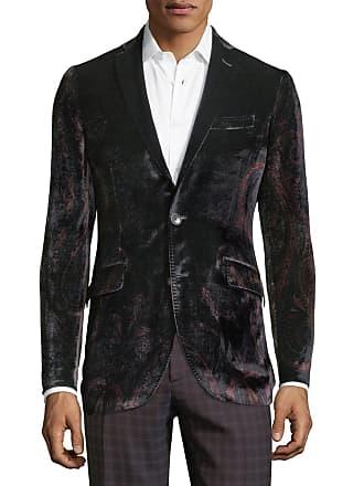 1224cbc632610 Etro Mens Velvet Paisley One-Button Jacket