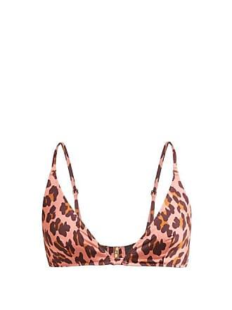 e581e185293 Stella McCartney Stella Mccartney - Ballet Leopard Print Triangle Bikini Top  - Womens - Pink Multi