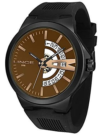 Lince Relógio Lince Masculino Ref: Mrp4576s N1px Casual Black