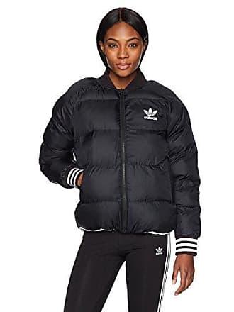 b6ab7e1ab adidas Originals Womens Originals Superstar Reversible Jacket, Black, M