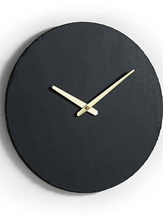 Kavehome Reloj de pared Wenig Ø 40 cm pizarra
