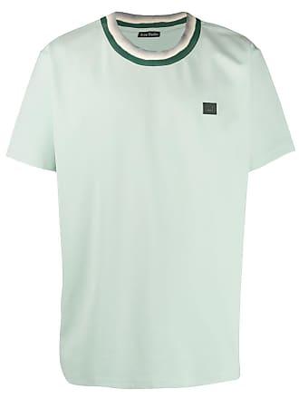 Acne Studios Camiseta com patch - Verde