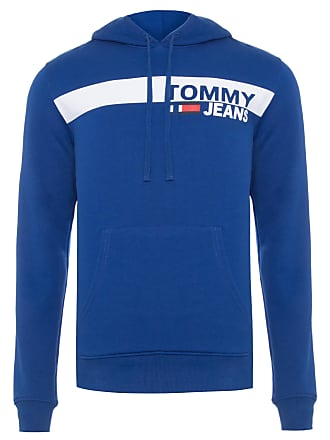 Tommy Jeans BLUSA MASCULINA ESSENTIAL GRAPHIC HOODIE - AZUL