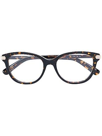 Jimmy Choo Eyewear Armação de óculos tartaruga - Preto