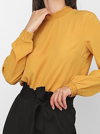 Vero Moda Blusa Vero Moda Lisa Amarela