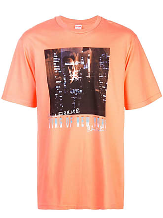 SUPREME King of New York T-shirt - Orange