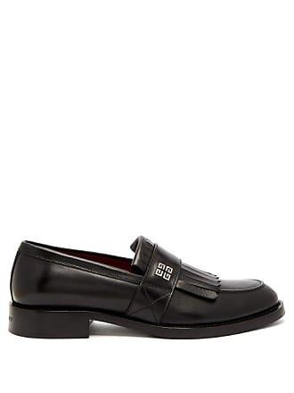 ce25684d290 Givenchy 4g Logo Fringed Leather Loafers - Mens - Black