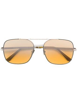 Emmanuelle Khanh M2500A-15 aviator sunglasses - Prateado