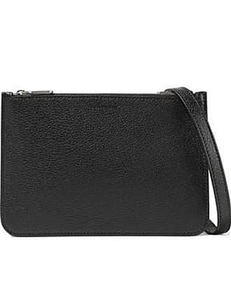 3a9605970 Burberry Burberry Woman Pebbled-leather Shoulder Bag Black Size