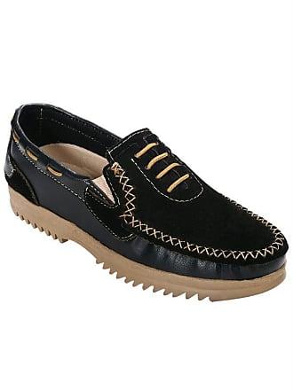 0a525d065c Perfecta Sapato em Sintetico e Camurca Preto