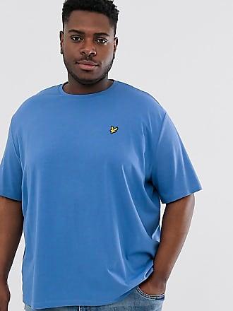 Lyle & Scott T-shirt blu con logo
