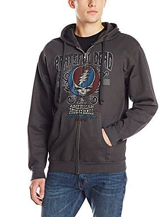 50dc1fd3307 Liquid Blue Mens Grateful Dead American Music Hall Zip Hooded Sweatshirt