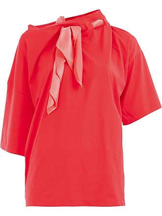 Y / Project Blusa com lenço na gola - Vermelho