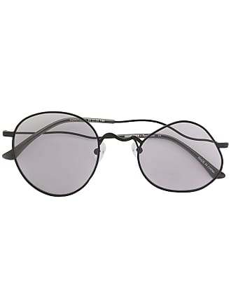 Ground-Zero distorted frame sunglasses - Preto