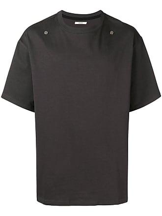 Zilver Camiseta com tachas - Cinza
