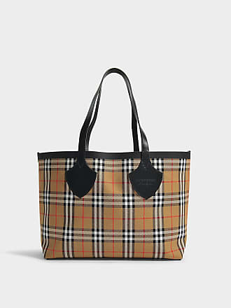 Burberry The Giant Medium Tote in Antique Yellow Cotton d1c111bd9584e