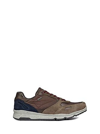255fd0f553d8 Geox Mens U Sandford B ABX A Low-Top Sneakers Brown (Taupe dk