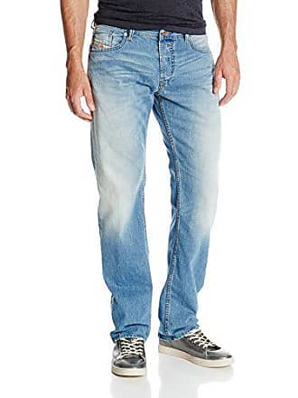 Diesel Mens Waykee Regular Straight-Leg Jean 0830Z, Denim, 29