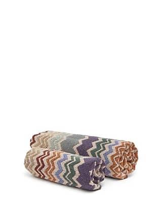 Missoni Home Rufus Zigzag Cotton Hand And Bath Towels - Brown Multi