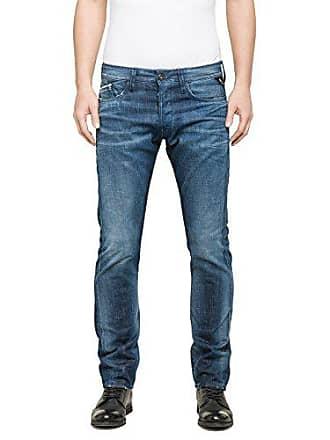 7f64378fb92e Replay Herren Straight Leg Jeanshose Waitom Gr. W32 L32 (Herstellergröße   32)