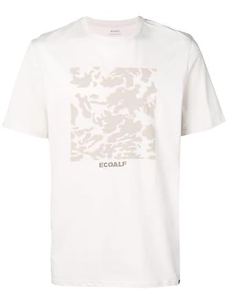Ecoalf Camiseta com logo - Branco