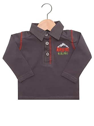 Tip Top Camisa Polo Tip Top Menino Cinza