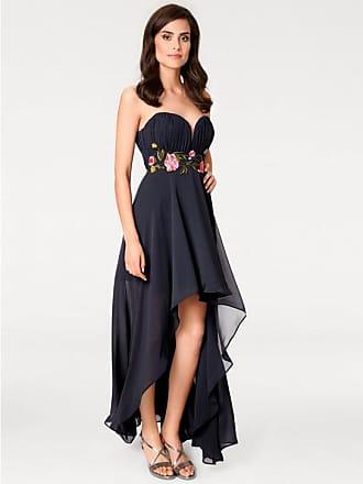 Heine Damen Abendkleid mit Corsage, blau, Gr. 40, heine TIMELESS, Material 756920f360