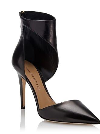 Tamara Mellon Belle Black Capretto Pumps, Size - 35.5
