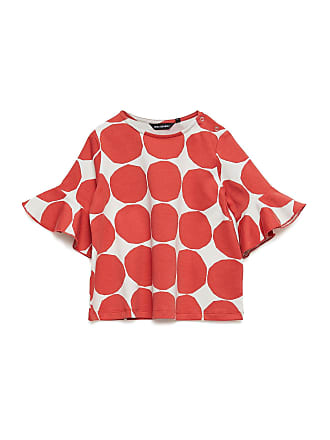 62ef15fb0c8b Marimekko Pomppia Mini Kivet 1 Tunic T-shirts Short-sleeved T-shirts Röd