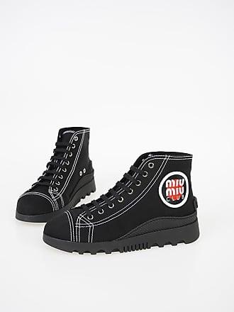 4ade4918811254 Miu Miu Fabric High Sneakers Größe 38