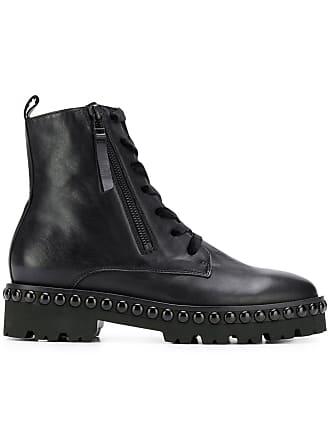 Kennel & Schmenger Ankle boot de couro com cadarço - Preto