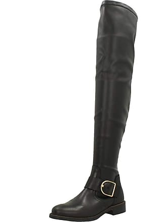 1e5b78ae3e86f Tommy Hilfiger Womens Boots, Colour Black, Brand, Model Womens Boots  Oversized Buckle OVERKNE
