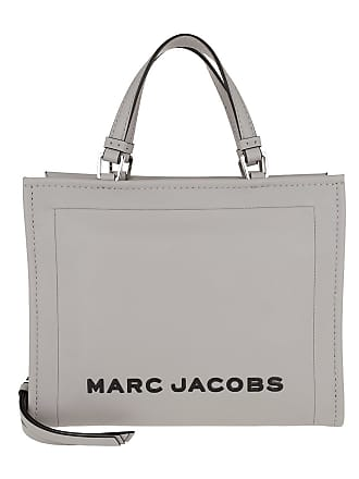 5cefa58496d Marc Jacobs The Box Shopper Bag Leather Dizzle Grey Tassen met handvat grijs