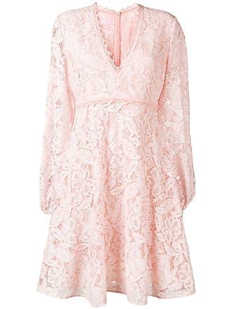 Giambattista Valli floral lace dress - Pink