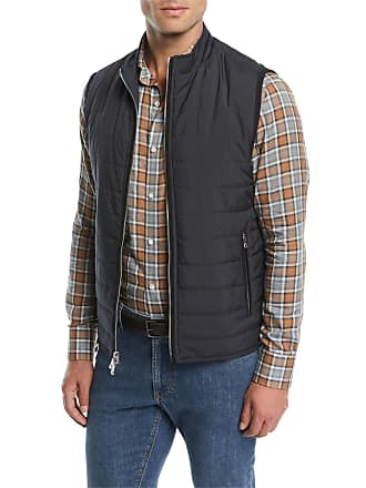 Peter Millar Mens All-Weather Quilted Light Vest