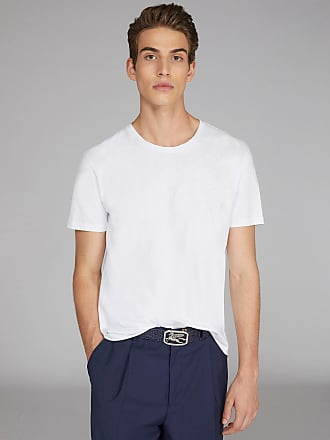Etro T-shirt With Embroidered Paisley Pattern, Man, White, Size 3XL