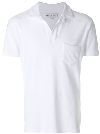 Orlebar Brown Camisa polo clássica - Branco