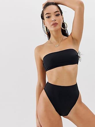 3a4e526276 Asos recycled mix and match high leg high waist bikini bottom