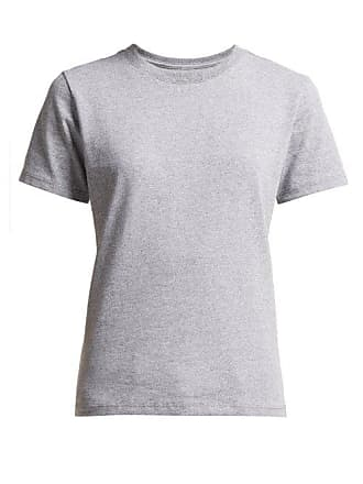 Hanes x Karla Hanes X Karla - The Crew Cotton Blend T Shirt - Womens - Grey