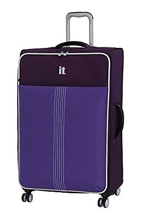 IT Luggage 31.3 Filament 8 Wheel Lightweight Expandable Spinner, Crown Jewel/Passion Flower